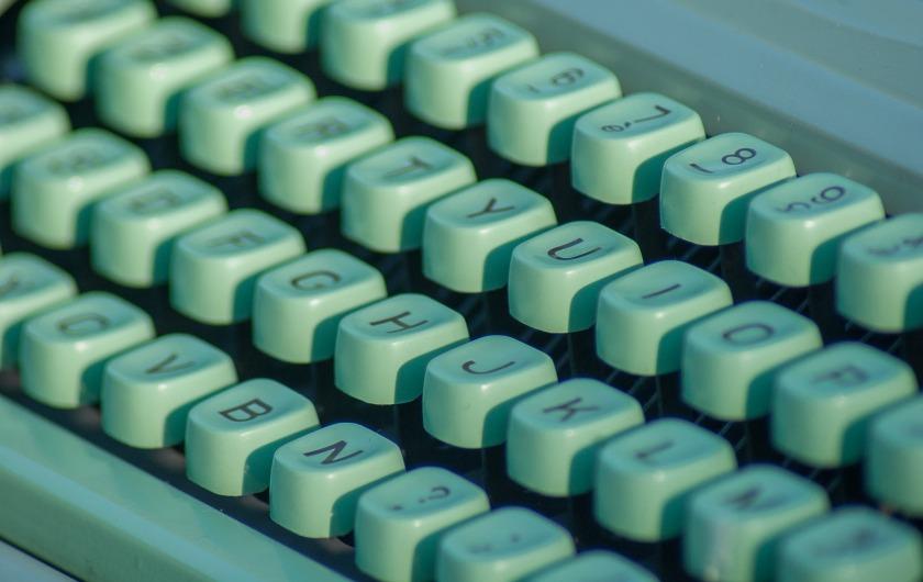 typewriter-1726000_1920